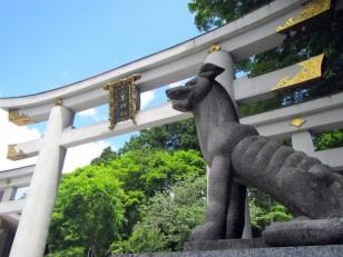 三峯神社大鳥居