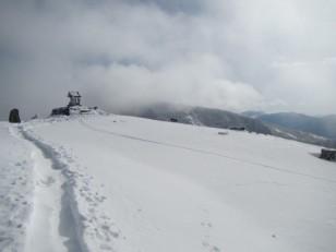雪の根子岳頂上