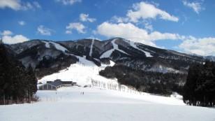 広大なスキージャム勝山のゲレンデ