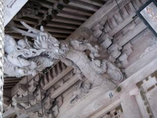 平泉寺白山神社の龍