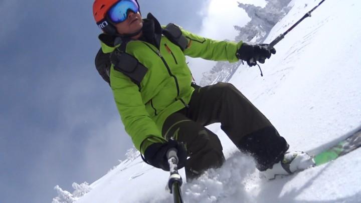 根子岳 山スキー