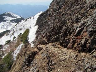 雪岩ミックス状態