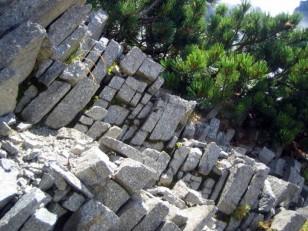 石垣のようだ