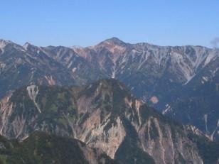 立派な山姿