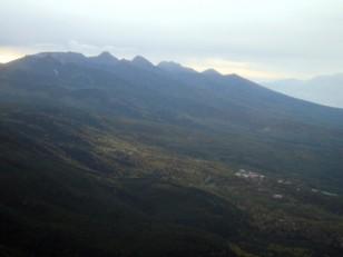 南八ヶ岳の展望
