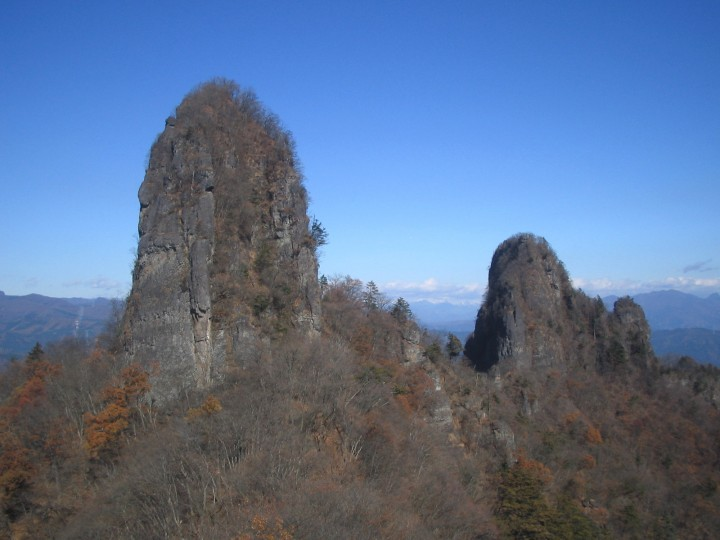 ニョキニョキ岩峰