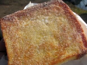 まるきパンのシュガートースト