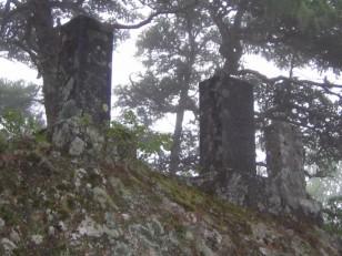 黒戸尾根の石碑