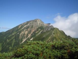 五竜岳(2814m)