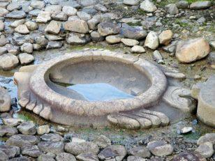 酒船石遺跡 亀の部分