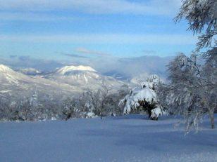 雪の妙高、黒姫